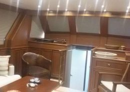 Yat ve Tekne Perdesi Kabin